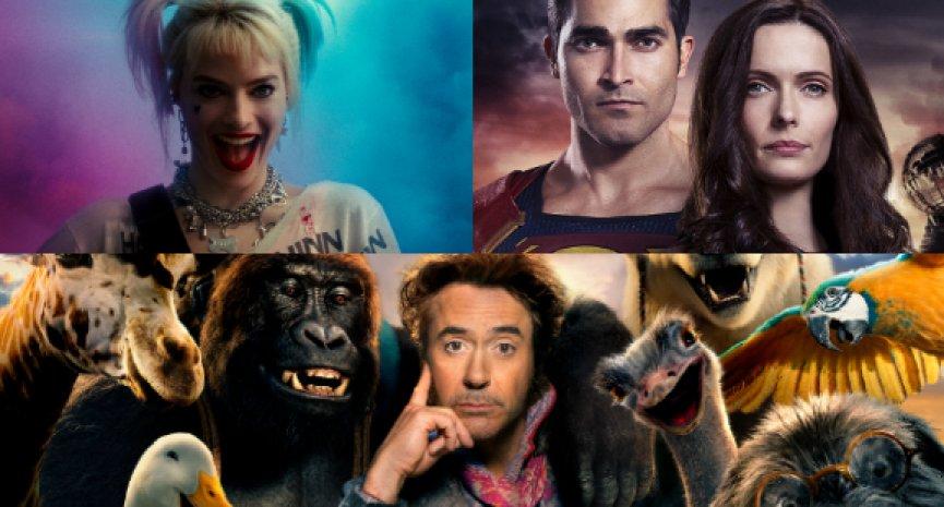 【HBO台灣2021年2月強檔片單】《超人與露易絲》與美同步首播!小勞勃道尼《杜立德》歡樂啟航