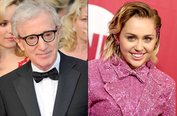 Woody Allen casts Miley Cyrus, Elaine May in his '60s-set series for Amazon