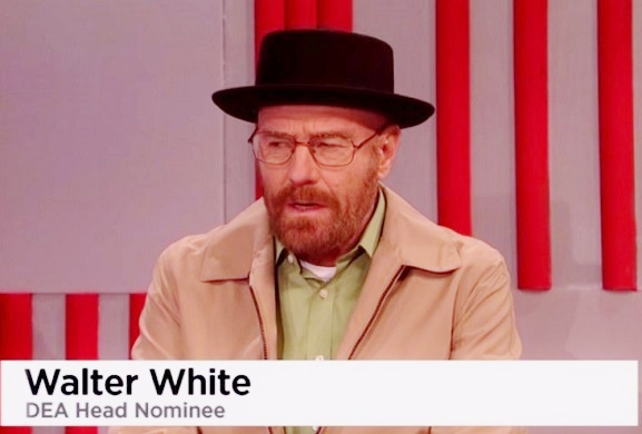 SNL: Bryan Cranston's 'Walter White' named DEA chief in Trump's cabinet