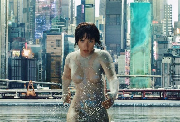 Scarlett Johansson,Ghost in the Shell