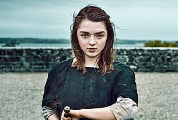 Maisie Williams' Arya Stark