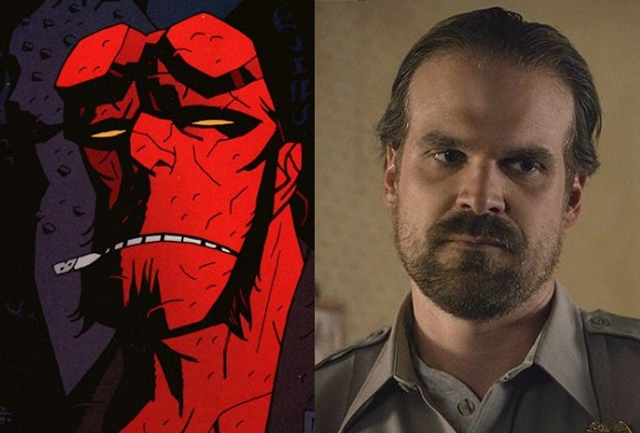 Hellboy: R-Rated Reboot Casts Stranger Things' David Harbour