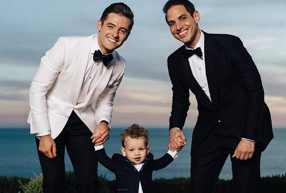 'Arrow,' 'Flash' Producer Greg Berlanti Marries Soccer Star Robbie Rogers -- See Their Sweet Wedding Pics!