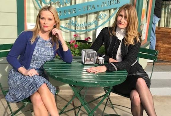 Big Little Lies': Laura Dern and Reese Witherspoon Back on Set in First-Look Season 2 Photo