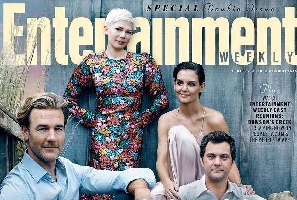 Dawson's Creek cast reunites for its 20th anniversary on this week's EW cover