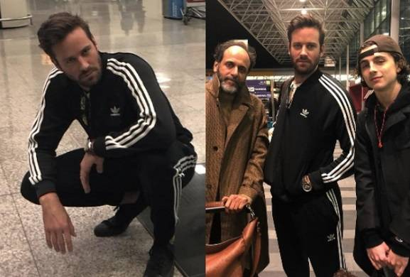 Armie Hammer Is Retiring His Tracksuits