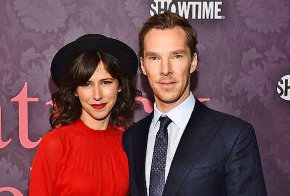 Benedict Cumberbatch and Sophie Hunter are all loved up at LA premiere for his new TV series Patrick Melrose