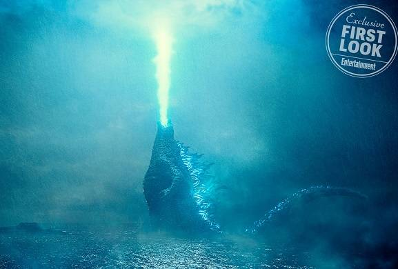 Godzilla unleashes 'atomic breath' in Godzilla: King of the Monsters first look