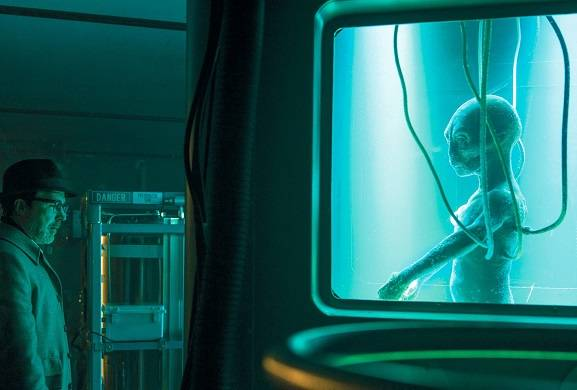 "History Declassifies First Look at Alien In ""Project Blue Book"" Series!"