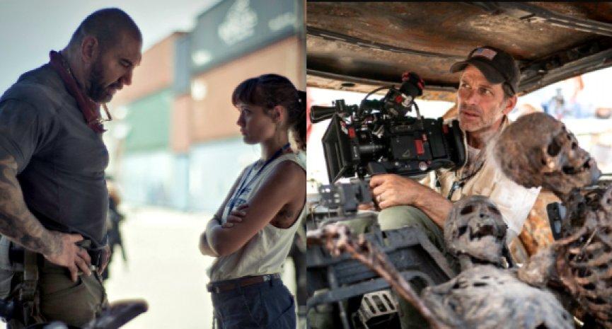 Netflix原創電影《活屍大軍》公開全新劇照!查克史奈德曝華納拒絕製作原因