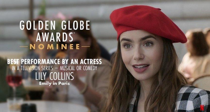 《艾蜜莉在巴黎》驚喜入圍金球獎最佳喜劇影集!莉莉柯林斯角逐視后曝入圍感言