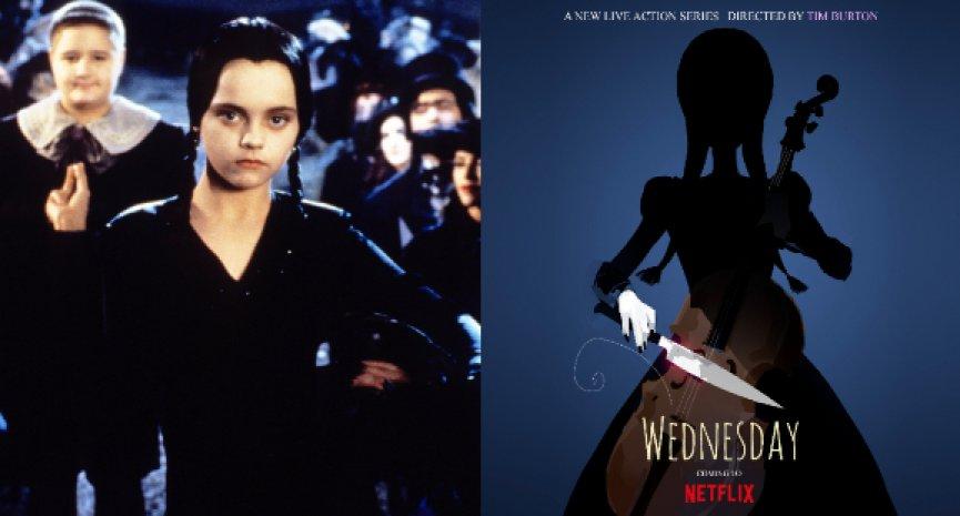 Netflix預訂「阿達一族」《Wednesday》真人影集!提姆波頓攜怪怪少女「星期三」登小螢幕