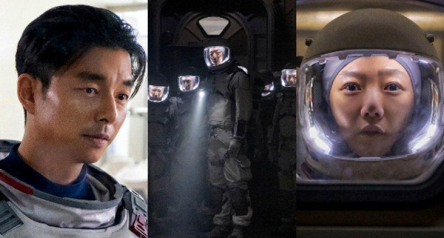 Netflix首發原創韓劇《寂靜的大海》劇照!孔劉、裴斗娜「太空裝造型」曝光