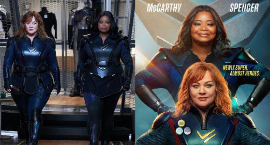 瑪莉莎麥卡錫進化成《雷霆女神》!Netflix超級英雄電影首曝預告