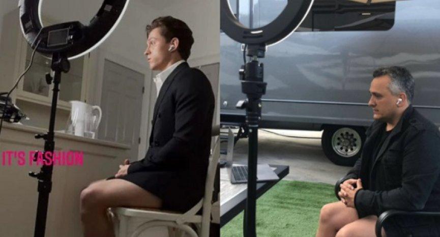 荷蘭弟「視訊不穿褲」引跟風!《復仇者》導演也脫了,湯姆霍蘭德告白:我愛他的腿