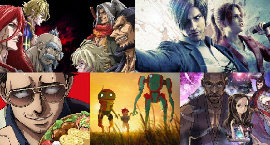 Netflix今年推出40部原創動畫!《極道主夫》、《終末的女武神》接續上線