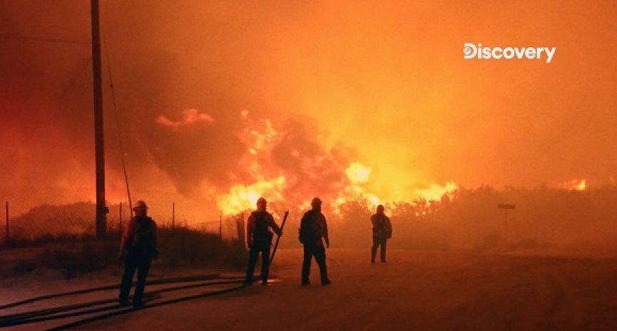 燃燒1/3大的台灣!《加州野火英雄》直擊野火浩劫最前線