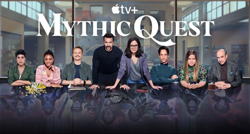 《紐時》評比爆笑更勝影集《我們的辦公室》!Apple TV+《神話任務》第二季5月獨家登場