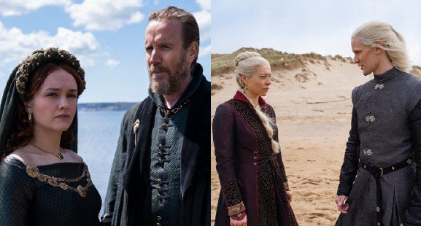 《冰與火》前傳美劇《House of the Dragon》首曝劇照!馬特史密斯「龍族」白髮造型公開