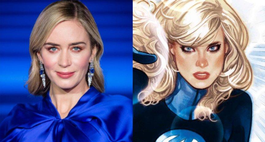 傳聞成漫威版「隱形女」!艾蜜莉布朗否認加入新版《驚奇4超人》