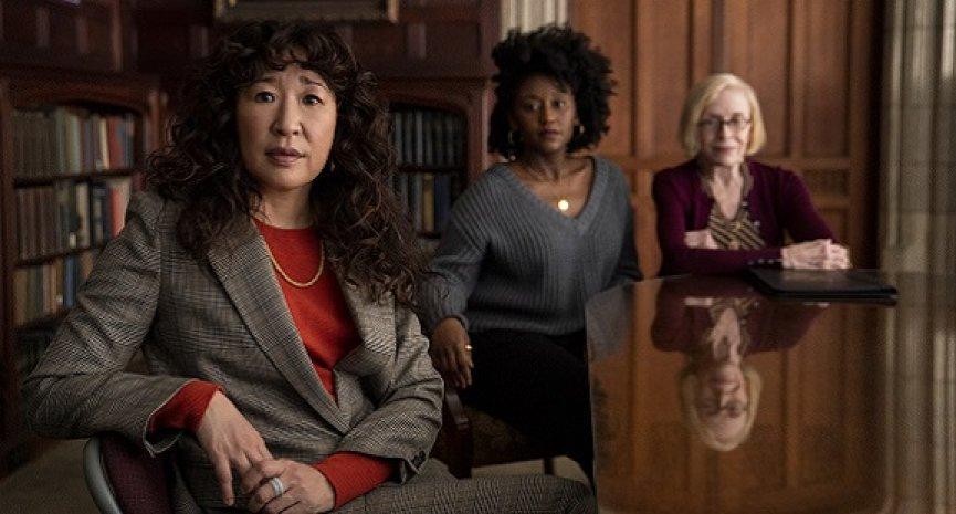 珊卓請你《叫她系主任》!《冰與火》主創監製Netflix喜劇新作首曝劇照