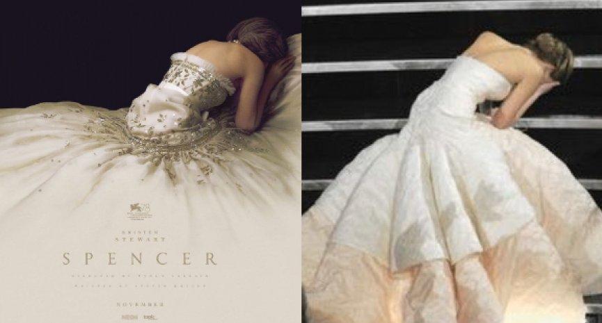 黛妃電影《Spencer》公開海報!網友大驚「是在致敬珍妮佛羅倫斯」