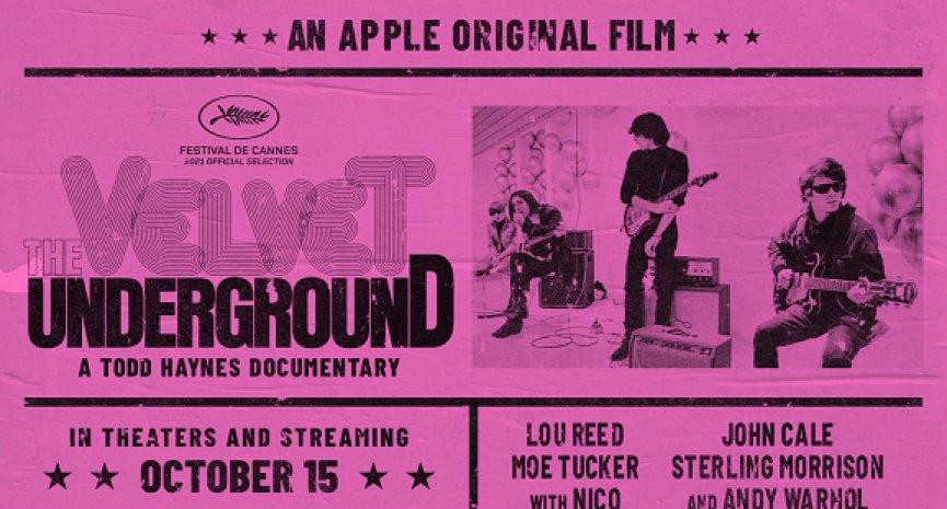 定調搖滾美學!Apple TV+獨家上線「地下絲絨」紀錄片公開未曝光片段