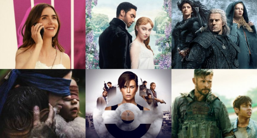 Netflix公布十大人氣影劇!《柏捷頓家族》收視贏過《獵魔士》