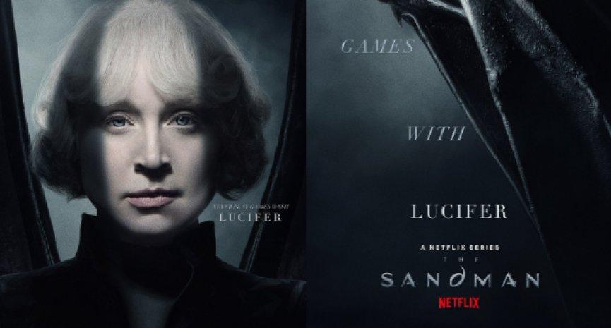 Netflix漫畫改編影集《睡魔》曝新海報!《冰與火》布蕾妮成「路西法」