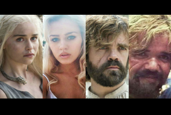 Game Of Thrones: see the stars with their body doubles – Daenerys, Cersei, Tyrion and more