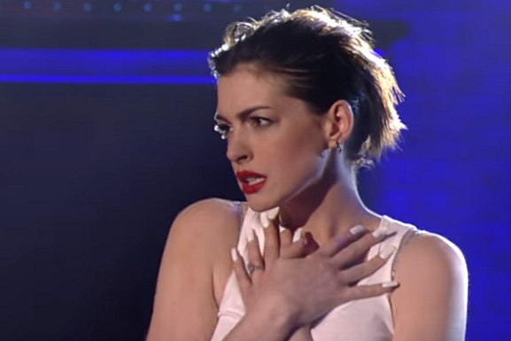 Anne Hathaway on Lip Sync Battle