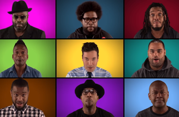 Jimmy Fallon, The Roots &