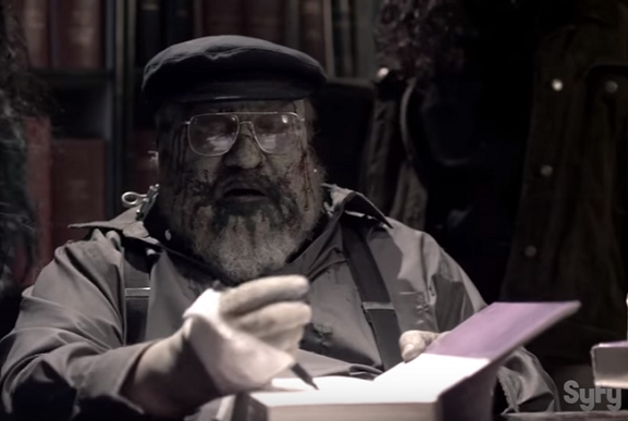 G.R.R. Martin in Z Nation