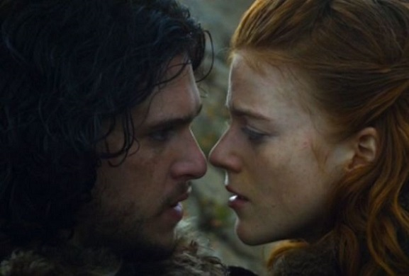 Game of Thrones's Jon & Ygritte