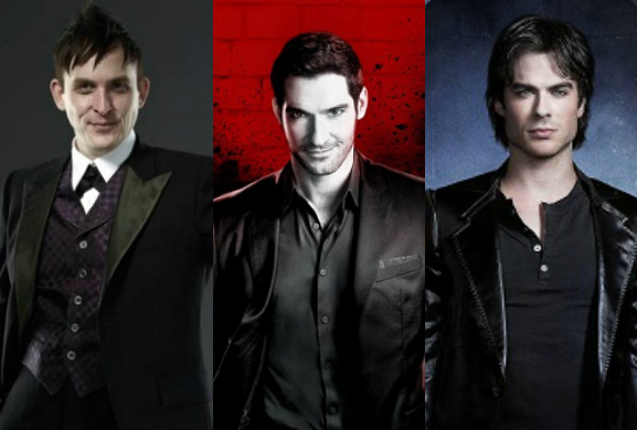 gotham,lucifer,The Vampire Diaries