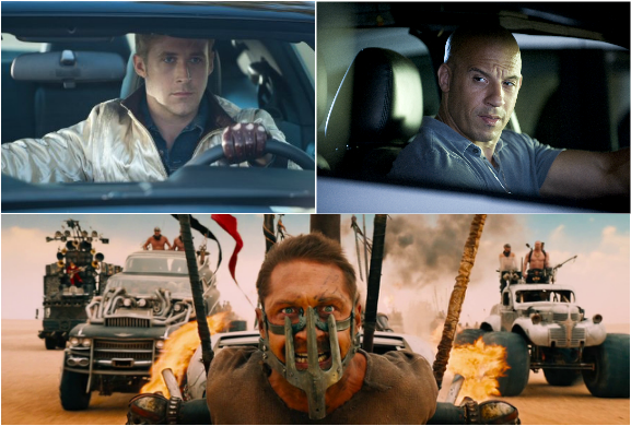 TOP10 car chase scene,drive,mad max,Fast Five