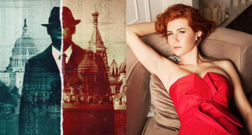 Netflix《成就間諜之道》剖析性感特工來歷!Anna Chapman被封「真實版龐德女郎」
