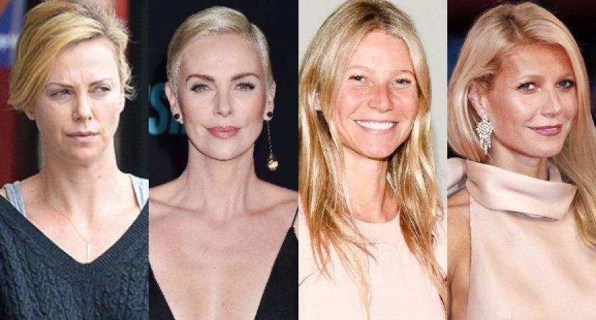 誰化妝前後差最大?20位好萊塢女星素顏照大公開