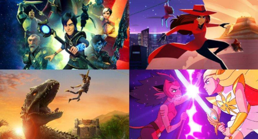 8部Netflix美式兒童卡通推薦,與你的小孩一同體驗千奇百怪的動畫冒險