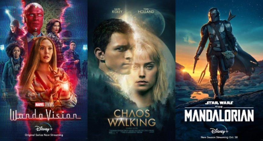 精選2021年八部好萊塢影視VFX特輯,一窺《噪反》、《汪達與幻視》、《曼達洛人》特效製作
