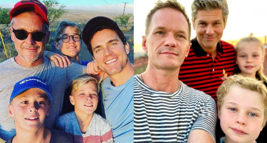 我有兩個爸爸我驕傲!5位同志男星與寶貝的溫情互動
